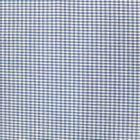 Tissu Vichy Mini carreaux 3 mm Bleu roi - Par 10 cm