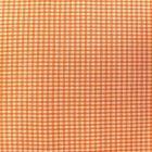 Tissu Vichy Mini carreaux 3 mm Orange - Par 10 cm
