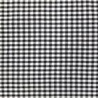 Tissu Vichy Petits carreaux 5 mm Noir - Par 10 cm