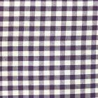Tissu Vichy Grands carreaux 10 mm Violet - Par 10 cm