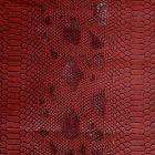 Simili cuir Comodo Rouge - Par 50 cm