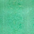 Simili cuir Comodo Turquoise - Par 50 cm