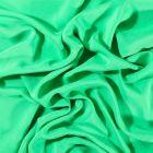 Tissu Voile de viscose uni Vert gazon - Par 10 cm