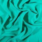 Tissu Voile de viscose uni Vert menthe - Par 10 cm