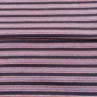 Tissu Bord côte Rayures Bleu ancien sur fond Bleu marine - Par 10 cm