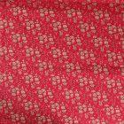 Tissu Liberty of London Capel Rouge - Par 10 cm