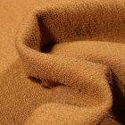 Tissu Crêpe texturé Uni sur fond Moutarde