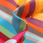 Tissu Toile extérieure Dralon Grande largeur Carioca sur fond Violet