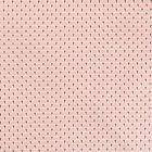 Tissu Coton Enduit Eventails Roses - Par 10 cm