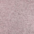 Tissu Maille chiné envers tout doux molleton Vieux rose chiné - Par 10 cm