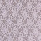Tissu Dentelle à fleurs Blanches - Par 10 cm