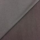 Tissu Molleton Sweat uni Marron chocolat x10cm