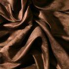 Tissu Suédine d'ameublement Marron ébène - Par 10 cm
