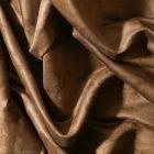 Tissu Suédine d'ameublement Marron vison - Par 10 cm