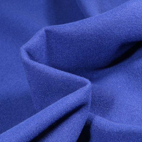 Tissu Drap de manteau Craftine Box Bleu Roi - Par 10 cm