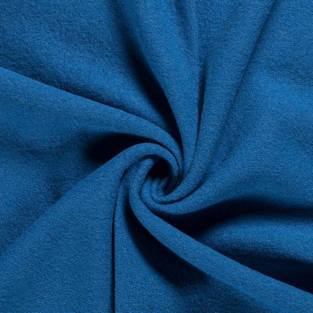 Laine bouillie 100% laine Bleu turquoise - Par 10 cm