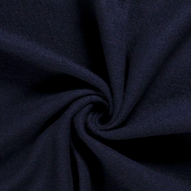 Laine bouillie 100% laine Bleu marine - Par 10 cm