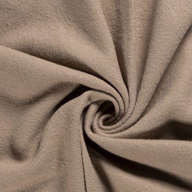 Laine bouillie 100% laine Beige - Par 10 cm