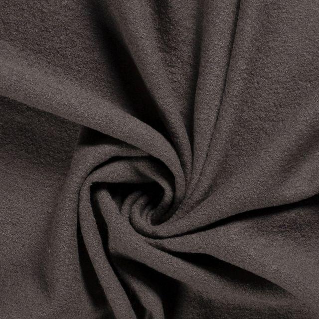 Laine bouillie 100% laine Taupe - Par 10 cm