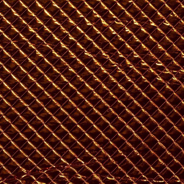 Tissu Doublure matelassé Cosmo Cuivre - Par 10 cm
