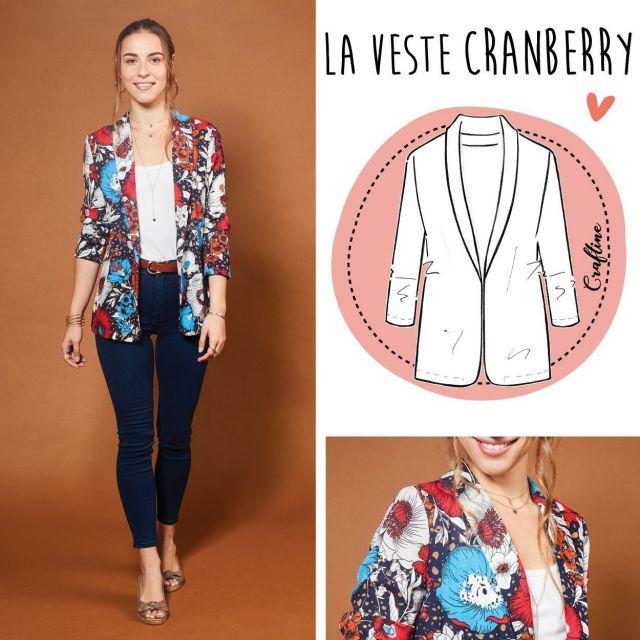 Patron Craftine Veste Cranberry