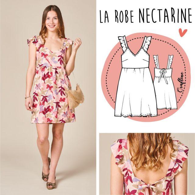 Patron Craftine Robe Nectarine