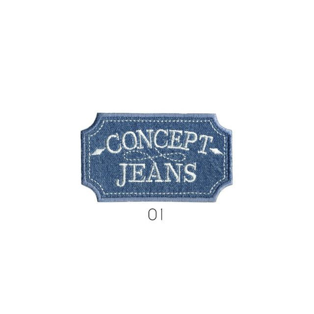 Ecusson Thermocollant Concept Jean used