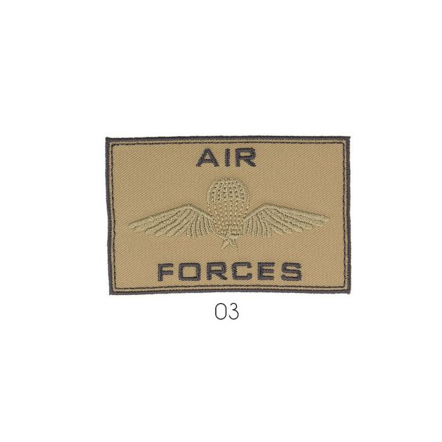 Ecusson Thermocollant Air Force Beige