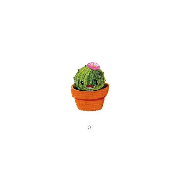 Ecusson Thermocollant Cactus