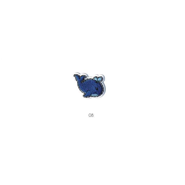 Ecusson Thermocollant Baleine Bleue