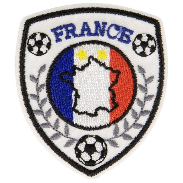 Ecusson Thermocollant Blasons Sport Foot et France