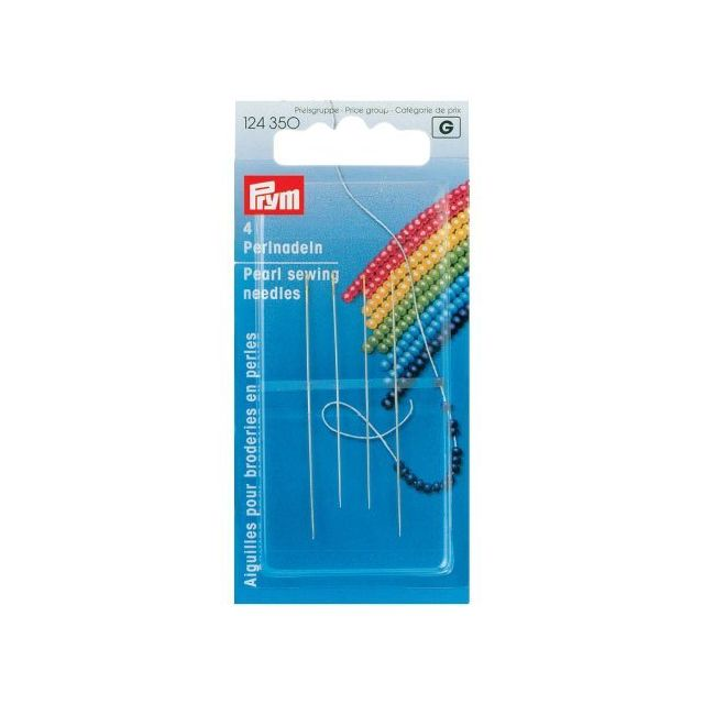 Aiguille/Broderie Perles N°10+13 Extra Fin