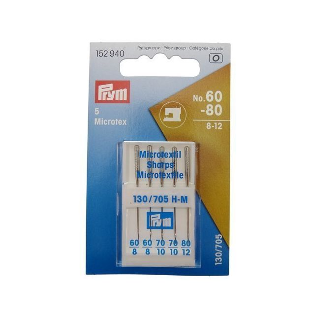Aiguille Machine/Coudre 130/705 N°60-80 Pour Micro