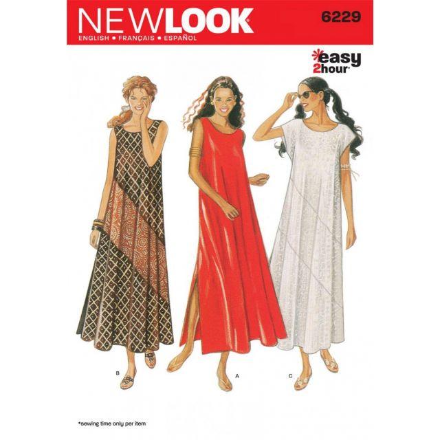 Patron New Look 6229 Robe