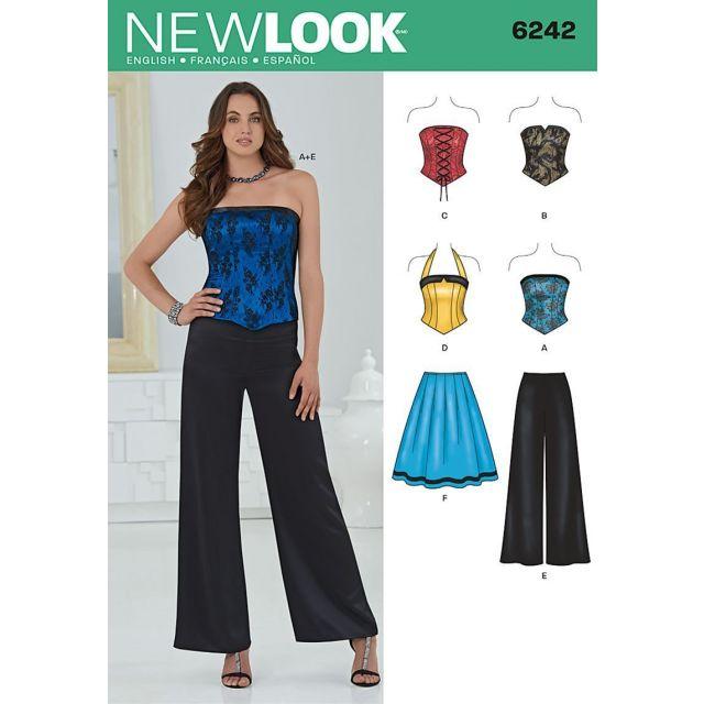 Patron New Look 6242 Ensemble Dames