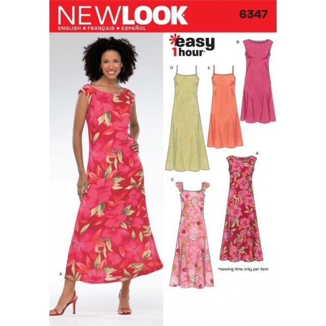 Patron New Look 6347 Robe