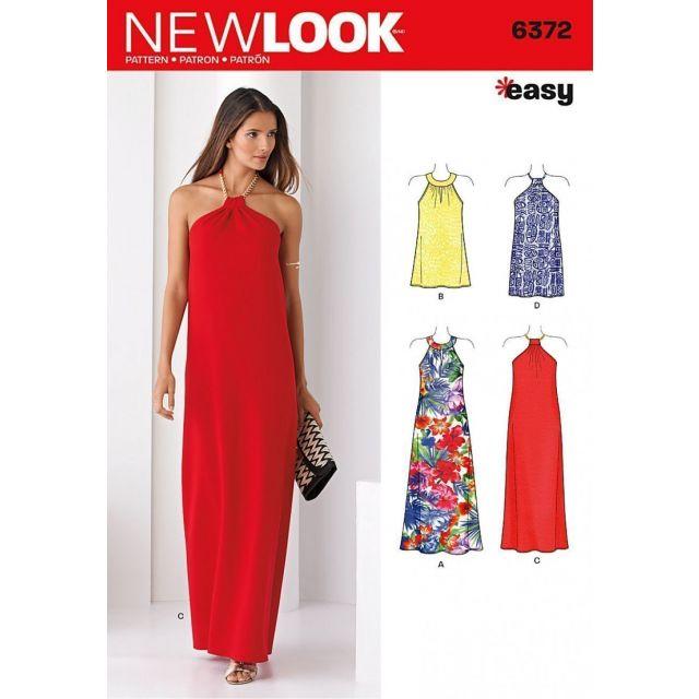 Patron New Look 6372 Robe