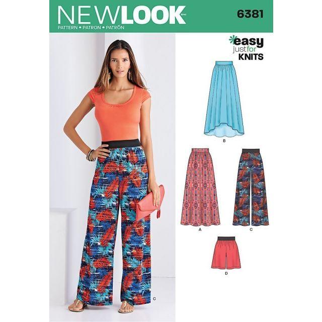 Patron New Look 6381 Ensemble Dame