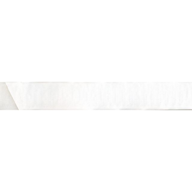 Velcro agrippant adhésif 20 mm Blanc x1m