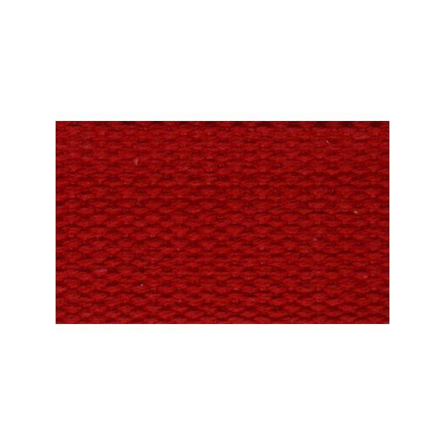 Sangle Coton 30 mm Rouge x1m
