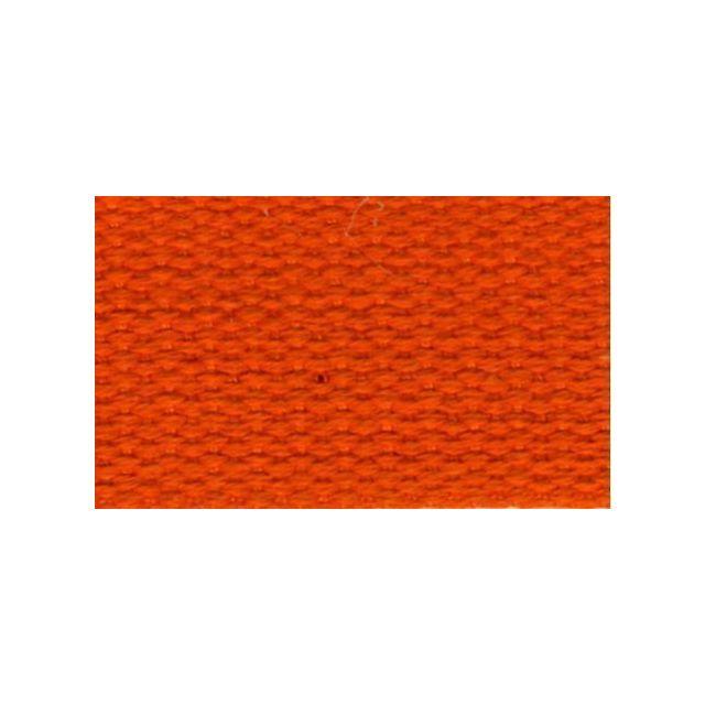 Sangle Coton 30 mm Orange x1m