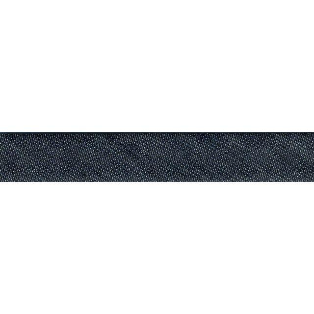 Biais replié Jeans Bleu x1m