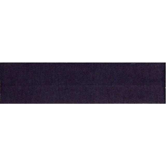 Biais replié Jersey 20 mm Bleu marine x1m