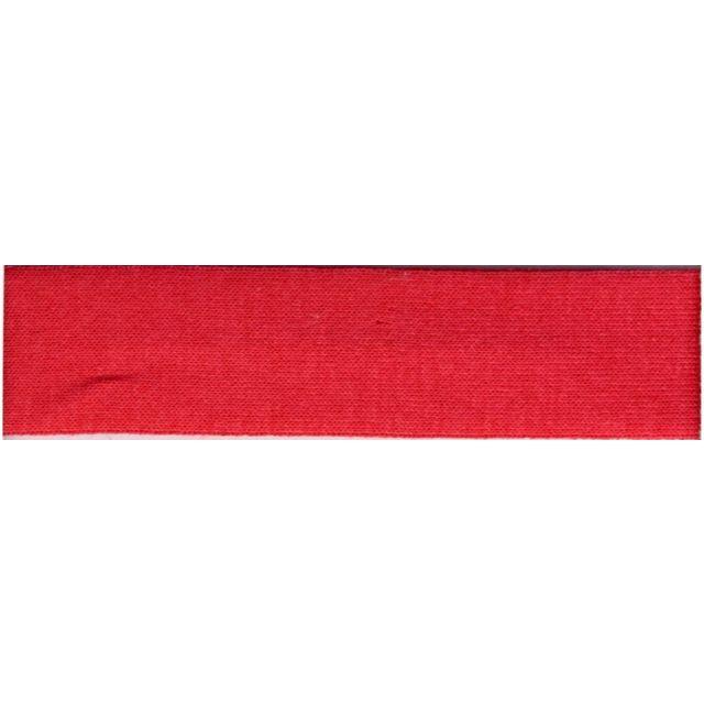 Biais replié Jersey 20 mm Rouge rosé x1m