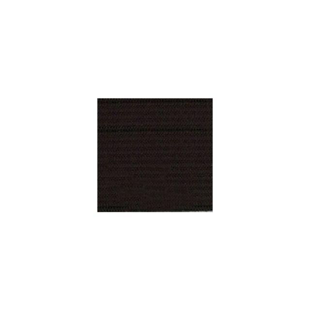 Elastique Plat Indémaillable 20 mm Noir x1m