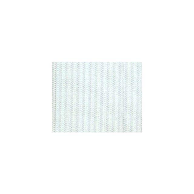 Elastique Plat Indémaillable 25 mm Blanc x1m