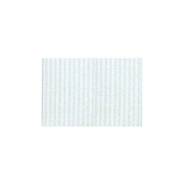 Elastique Plat Indémaillable 35 mm Blanc x1m