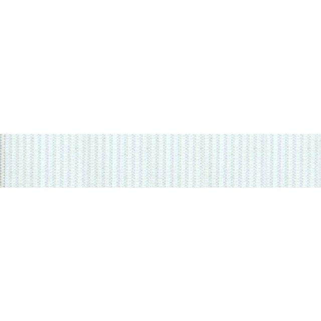 Elastique Plat Indémaillable 60 mm Blanc x1m