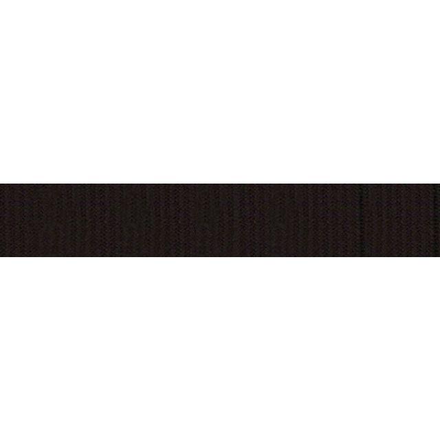 Elastique Plat Indémaillable 7 mm Noir x1m