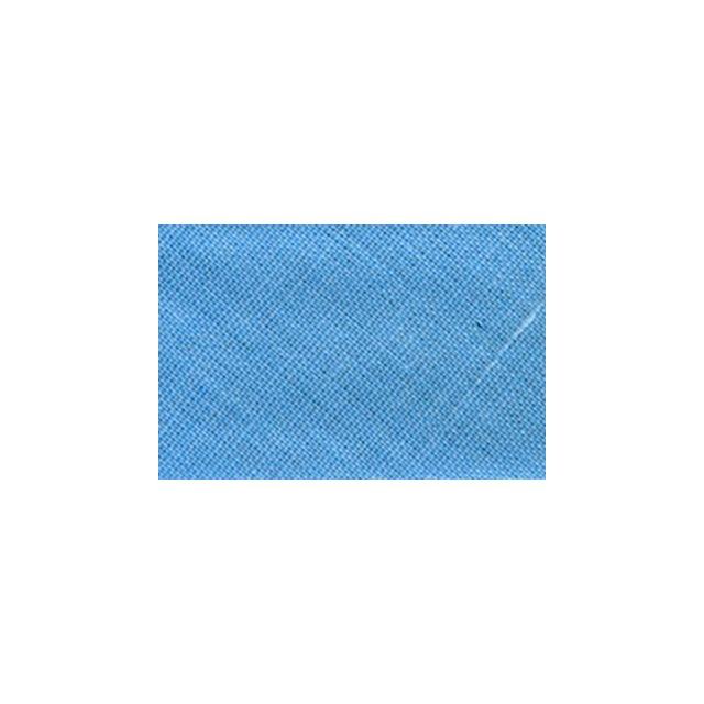 Biais replié tout textile 20 mm Bleu clair x1m